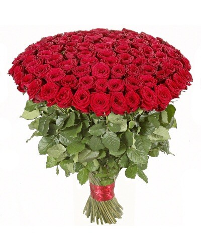 120 Red Roses Bouquet